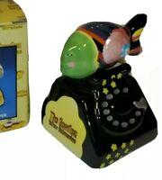 Vintage Beatles Yellow Submarine Fish Phone Salt & Pepper 2000 Vandor NOS NEW