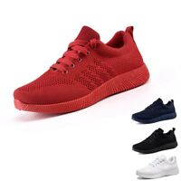Women's Ladies Shoes Flying Woven Casual Shoes Candy Color Student Running Shoes
