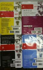 New & Sealed OCE Blk/Cyn/Mag/Ylw Toner Pearls Colorwave 600 P1 1060011490/1/2/3