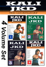 Ted Lucaylucay Kali Escrima / Jeet Kune Do (All 4 Dvd Set)