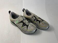 NOS Nike Womens MTB Shoes 35 Silver SPD US 4.5