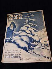 Partition Chants de Noel Gérard Nauwelaers Grand Format