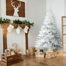Artificial Christmas Tree Xmas Colorado Spruce 4ft 5ft 6ft Free Delivery White