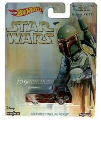 2017 Hot Wheels Star Wars Bounty Hunter Series #1 '60s Ford Econoline Pickup