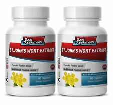 Ginkgo Herb Capsules - St. John's Wort Extract 475mg - Boost Prostate Health 2B