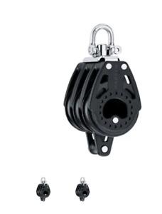 Harken 2665 75mm Triple Carbo Block w/Becket HAR2665 Harken SALE $199.99