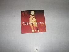 PATRICIA KAAS CD SINGLE GOLDMAN POCHETTE OUVRANTE