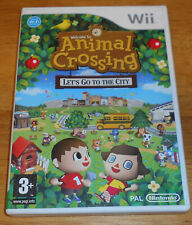 Animal Crossing Let's Go To The City - Nintendo Wii Game