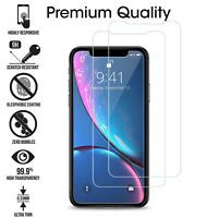 Tempered Glass Film Screen Protector For New Apple iPhone 11 Pro Max 2019 2 Pack