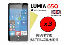 3x HQ MATTE ANTI GLARE SCREEN PROTECTOR COVER FILM GUARD FOR MICROSOFT LUMIA 650