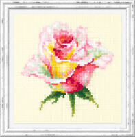 Counted Cross Stitch Kit MAGIC NEEDLE - Blooming rose