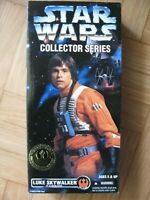 "figurine Star Wars Collector Series 12"" Luke Skywalker X-Wing Gear"