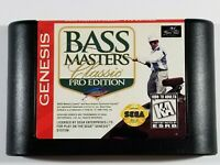 ¤ BASS Masters Classic Pro Edition ¤ (Game Cart) GREAT Sega Genesis Authentic