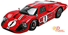 1967 FORD GT MK IV #1 RED LE MANS WINNER 1:18 DIECAST SHELBY COLLECTIBLES SC423