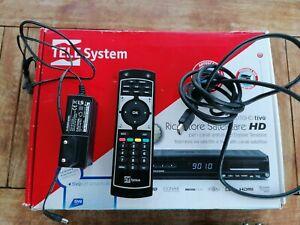 Tele System TS9010HD TivùsatHD Ricevitore Satellitare completo Scatola Originale