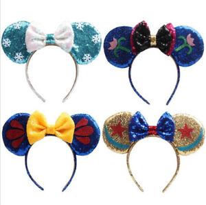 Kids Minnie Mouse Ears Headband Disney Land World Sorcerer Mickey colourful  UK