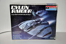 VINTAGE 1978 MONOGRAM BATTLESTAR GALACTICA BSG CYLON RAIDER MODEL SHIP MINT/BOX