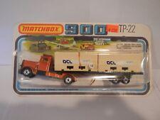Vintage Matchbox SuperFast 900 Long Haul & Articulated Trailer OCL TP-22