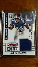 2014 PANINI CONTENDERS ROOKIE TICKET JERSEY #RTS-4 ANDRE WILLIAMS