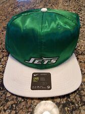 Nike New York Jets Pro Historic Snapback Hat Satin Green 902094 302 One Size Cap