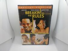Breakin' All the Rules (DVD, 2004, Special Edition) New   LOC # B16