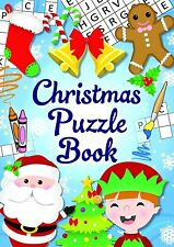 12 Mini Christmas Puzzle Activity Books A6 - Girl or Boys Party Bag Fillers by
