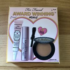Too Faced Award Winning Minis Makeup Set New In Box