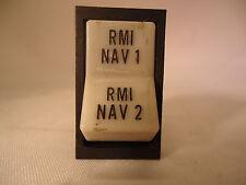 New listing Piper 688-296 Rmi Nav1 and 2 Switch - Used Avionics/Parts