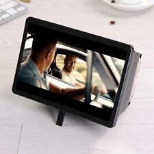 Soporte universal del teléfono móvil del amplificador de la lupa la pantalla 3D