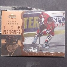 TONY AMONTE  1996-97  UD  Ice  ACETATE  Parallel  #13  *with protective film*