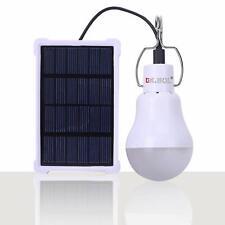 Lampe Solaire Portable LED Panneau Solaire Rechargeable Lampe Solaire LED Lampe