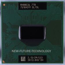 Intel Pentium M 770 SL7SL 2.13 GHz 533 MHz Socket 479 CPU Processor 100% Tested