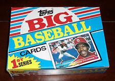 1988 TOPPS BIG BASEBALL CARDS SERIES ONE UNOPENED FULL WAX BOX W/ 36 PACKS