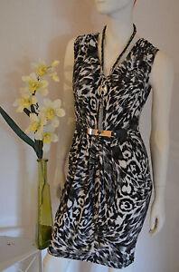 Damen Kleid  Tunika im Leo-Look   Women Dresses  Lady-Styl