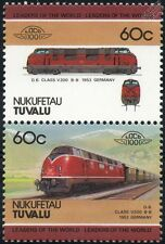 1953 DB Class V200 / 220 Krauss-Maffei Diesel-Hydraulic Train Stamps / LOCO 100
