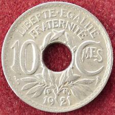 France 10 Centimes 1921 (D2004)