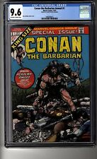 Conan the Barbarian Annual # 1 - Cgc 9.6 Ow/White Pages - Jon Berk Collection