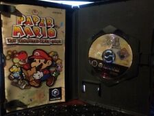 "GAMECUBE/Wii: ~ PAPER MARIO ~ {Complete} & including MEMORY CARD ~ ""NTSC-US"""