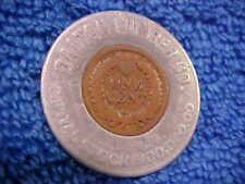 1902 Dalton Lumber Co encased Cent Dalton Pa Indian Lucky Pennsylvania yoAp