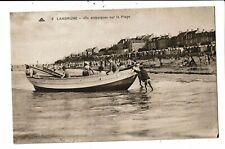 CPA-Carte Postale -France -Langrune - On embarque sur les plages  VM6952