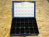 Sortimentkasten HN 8718 730 Blechschrauen schwarz verz. DIN7981 Sortiment Set