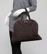 Yves Saint Laurent YSL Rive Gauche MUSE Suede Lizard Print Bag