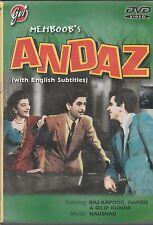 andaz - raj kapoor , dilip Kumar    [Dvd] 1st Edition  Baba  Released