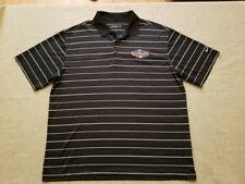 2011 MLB All Star Game Nike Golf Men's XL black golf polo shirt