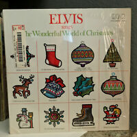 "ELVIS PRESLEY - Wonderful World Of Christmas - 12"" Vinyl Record LP - EX"