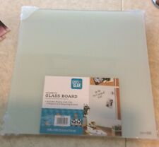 Magnetic Glass Board - Includes Dry Erase Marker and 2 Magnets 14