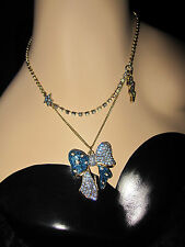 BETSEY JOHNSON HEAVENS TO BETSEY BOW DOUBLE NECKLACE