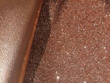 **NEW STOCK!** Rose Gold Chunky Glitter and Leatherette Fabric for Bows Set