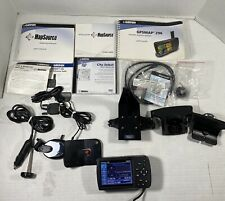 Garmin GPS Map Aviation 296 With Pilot Manuals Software CDs And accessories