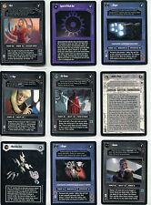 Star Wars CCG Reflections II Complete 28 Card Expanded Universe Set